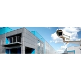 camera de monitoramento externa