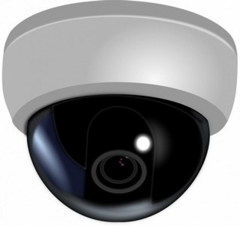 câmera de segurança com infravermelho