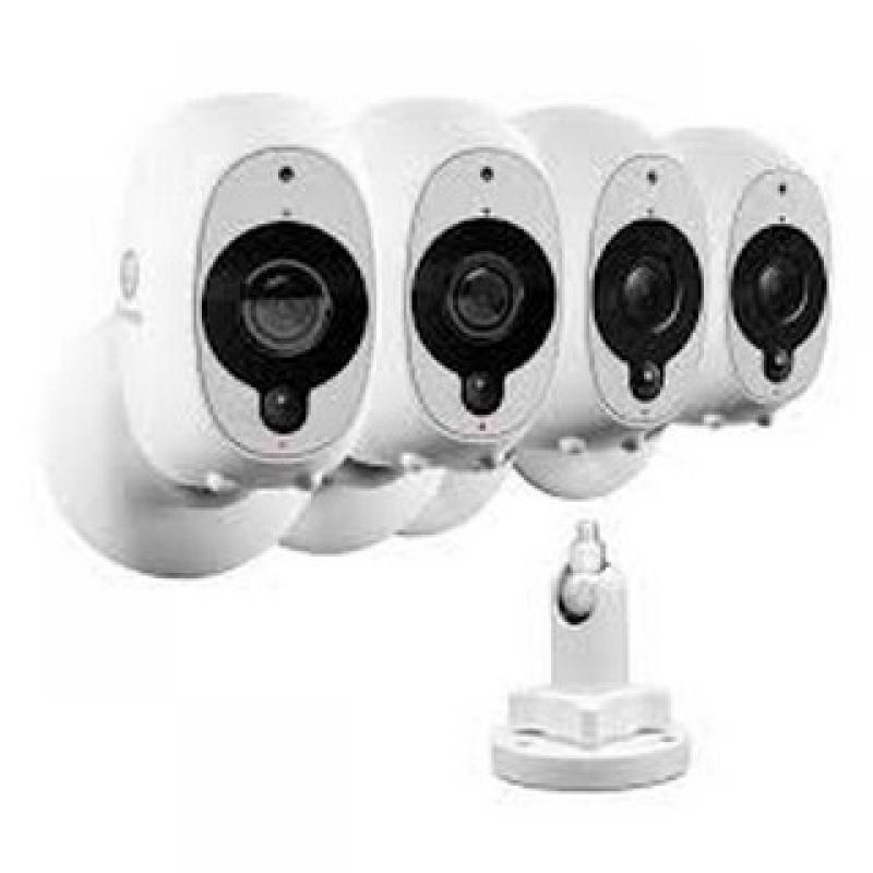 câmeras de segurança e monitoramento