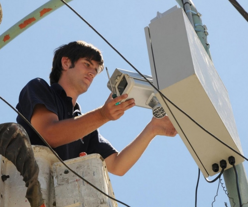 câmera de segurança de alta resolução preço Condomínio Vista Alegre