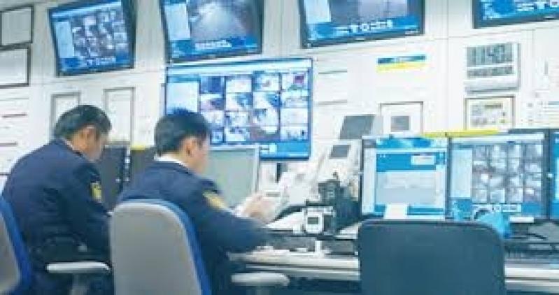 câmera de segurança eletrônica Chacara San Martin II