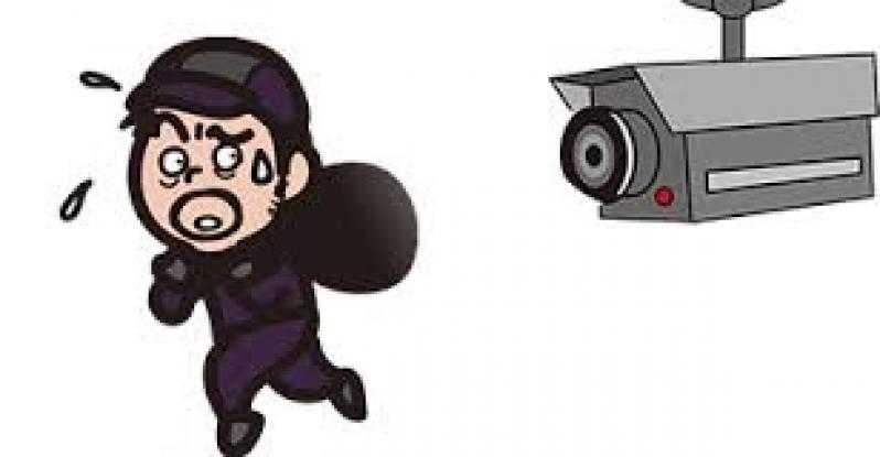 câmera de segurança para área externa Jardim Flamboyant