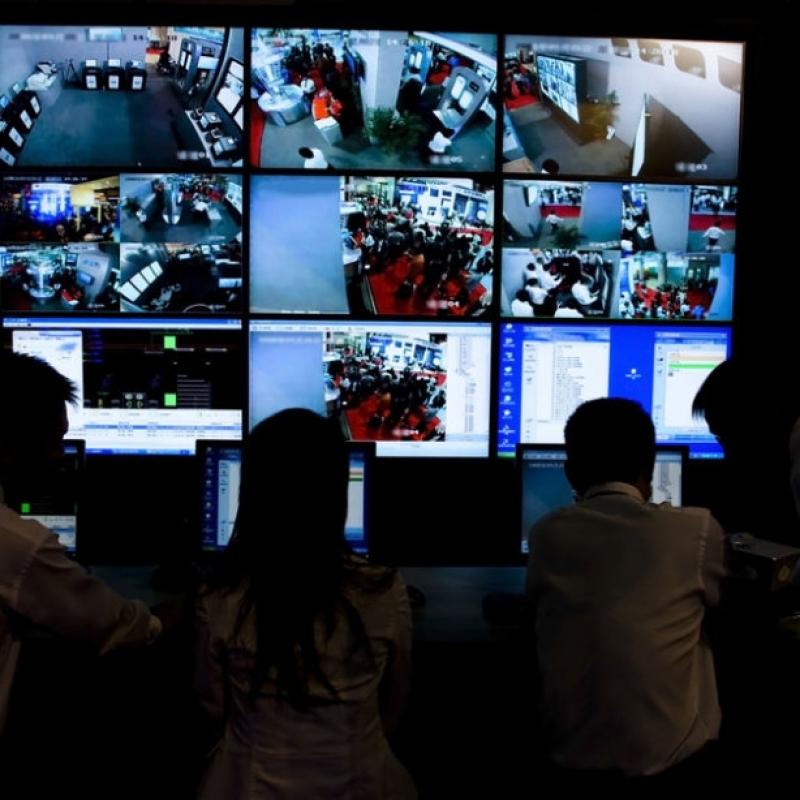 câmera de segurança residencial com monitor preço Barão Geraldo