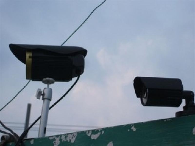 câmeras de segurança de alta resolução Bosque