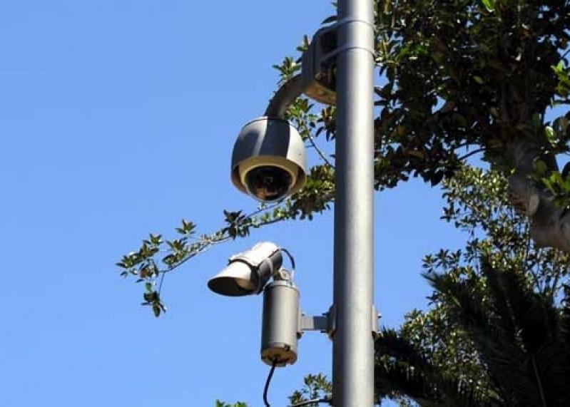 câmeras de segurança e vigilância preço Jardim das Oliveiras