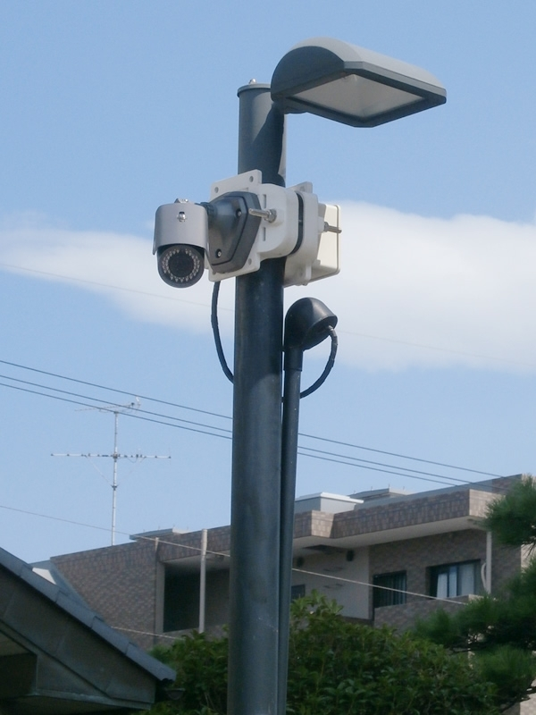 câmeras de segurança eletrônica Bosque