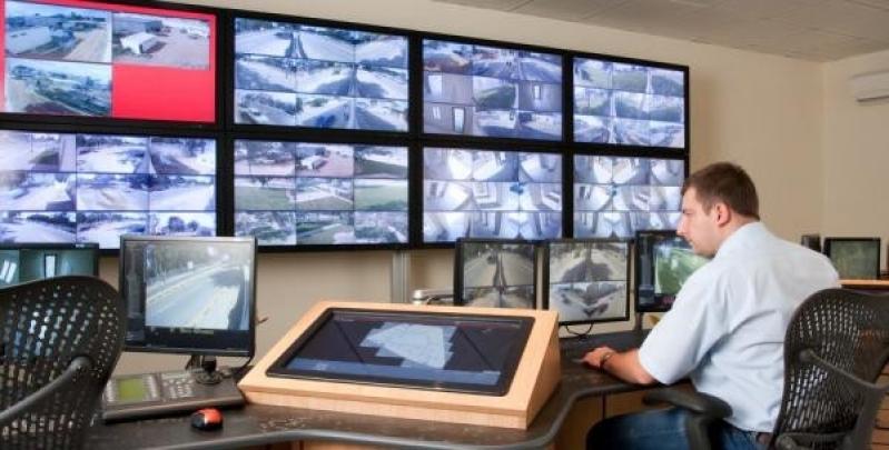 câmeras de segurança para área externa Vila Maria