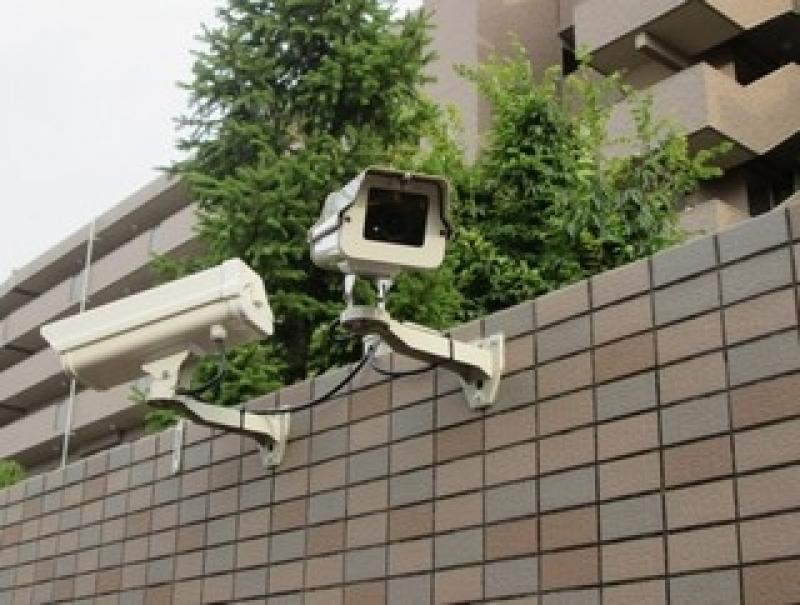 câmeras de segurança residencial com monitor Guarani