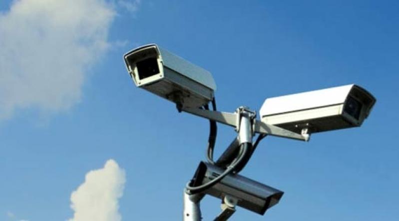 câmeras de segurança e vigilância