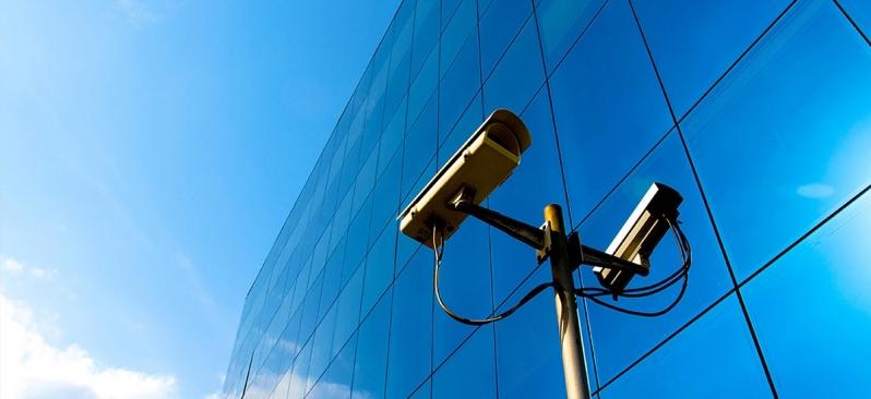 câmeras de vigilância de alta resolução