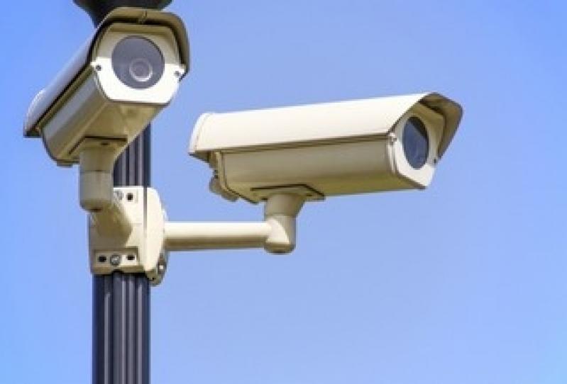 câmeras de vigilância para longa distância