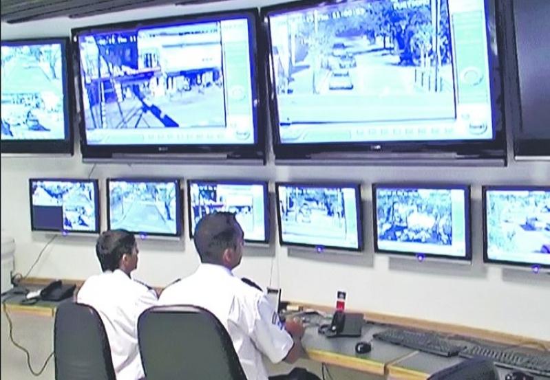 câmeras de vigilância externas Jardim California