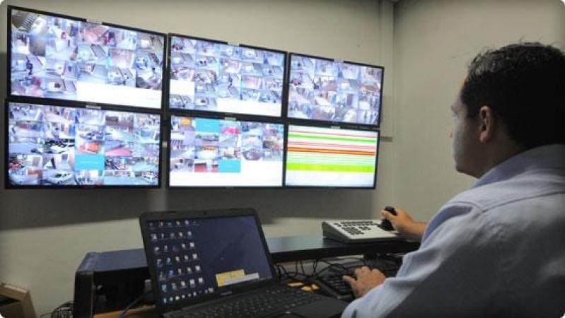 câmeras de vigilância para condomínio preço Jardim das Paineiras