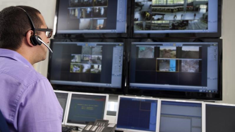 câmeras de vigilância para residência preço Vila Rubens
