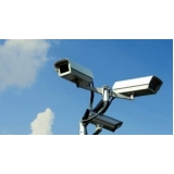 câmeras para segurança residenciais externas Jardim Tres Irmãos