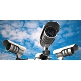 instalação câmera de segurança residencial Chacara San Martin II