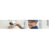 instalação de câmeras de segurança residencial com monitor Nucleo Res.Porto Seguro