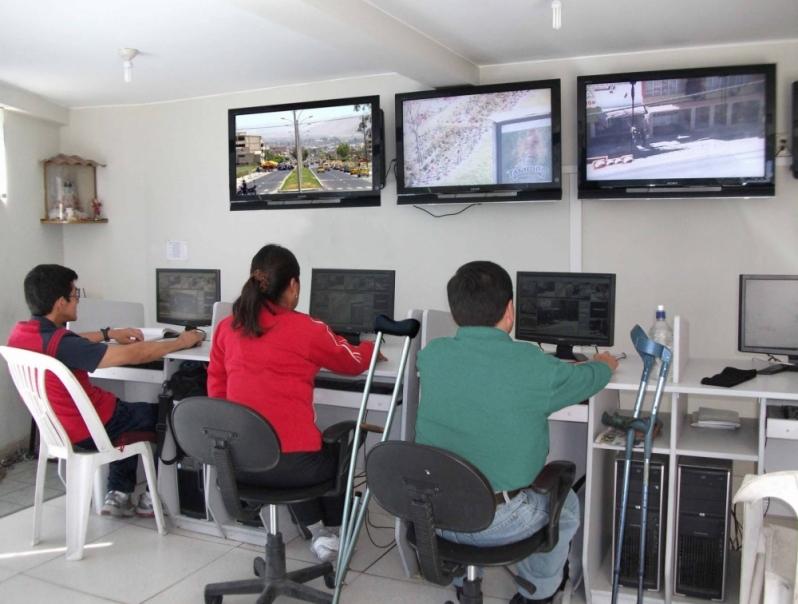 serviço de monitoramento virtual Res. Jardim Florencia
